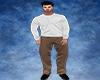 Soft Brown Formal Pants