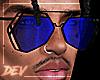 !D Asteri Glasses Blu
