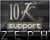 [Z] 10k Support Sticker