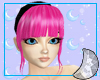 Apple Pink Dorcas Bangs