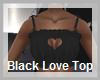 P5* Black Love Top