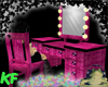 [KF] Makeup Table Pink!
