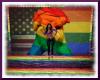 Gay Pride 20 ppl pose