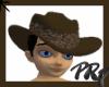 Brown Aussie Cowboy Hat
