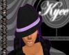 Mafiosa Hat Purple/Black