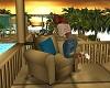 Coba Cabana Fluffy Chair