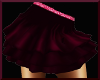 kid maroon skirt