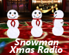 Snowman Christmas Radio