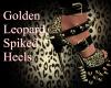 Golden Leopard Spiked