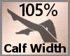 Calf Width Scale 105% FA