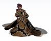 Snakeskin Godess Gown