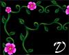 2in1 frame Vine+flowers