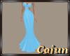 Sky Blue Elemental Gown