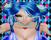 Blue kawaii fairy