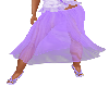 Soft Purple Summer Skirt