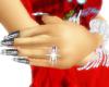Ruby/Diamond Wed Ring