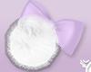 🇾 Fluffy Bow Lilac