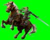 [AR]Link on horse