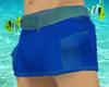 Short shorts Blue