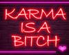 f Neon KARMA