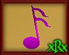 Music Note 2 Purple