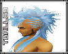 Mohawk-Blue Hair