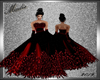 Midnight Red Gown