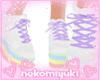 rainbow girl shoes