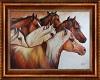 Power of 6 Horse Art