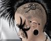 Black Mohawk Skull fm