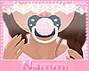 Kids country paci pink