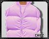 Cz!! Purple Bubble Coat