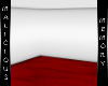 Simple White Room - Red