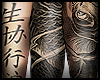 D. ORIENTAL ARMS TATOO-F