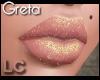 LC Greta Gold Glitter