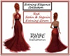 RHBE.RedSequin&SatinGown