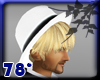 blond hair with hat #5