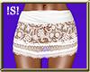 !S! Lacey Skirt Wht RL