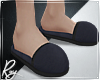 Navy Slippers