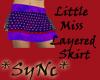 *SyNc Little Miss Purple