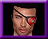 heart eye patch