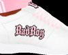 Pink/White BadBoy Shoes