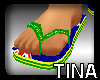 [TINA] AUSDAY thongs M