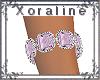 (XL)Slv/Pink Bracelet R