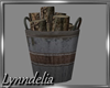 ~L~ FireLog Metal Bucket