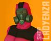 HAZMAT SUIT Hot Pink F