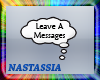 Leave A Messages Bubble