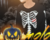 m/ Kids Skeleton Sweater