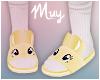 ! Bunny slippers (yellw)