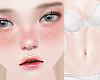 Freckeld Pale Skin
